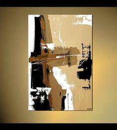 Original zeitgenössische abstrakte Malerei Acryl von OsnatFineArt