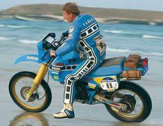 Olivier beim Test der neuen Dakar TÉNÉRÉ 1984