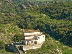 Ermita de Comas. San Esteban de Litera (Huesca), La Litera, Aragón, Spain.