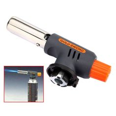What we recommend you here is this Gas Torch Butane Burner Auto Ignition Camping Welding Flamethrower, which is popular for its ingenious workmanship and exquisite appearance. Made with advanced technique and fine workmanship, this butane gas torch is safe and durable in use. The advanced ignite technology makes its flame more centralized and burning more effective. With compact and small design, this butane torch is suitable for BBQ, outdoor lighting, indoor ignition, etc. Do not miss it!