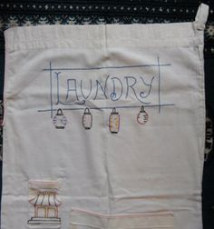 vintage laundry bag embroidery designs chinese - Google Search
