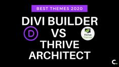 Divi Builder Vs Thrive Architect: Best Themes Hey there, I am glad to see you on this post and will make sure that you´ll enjoy this web learning. Cool Themes, Read More, Articles, Learning, How To Make, Studying, Teaching, Onderwijs