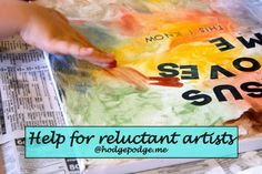 You CAN Be An Artist! Help for Reluctant Artists