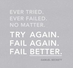 Fail better. #motivation #crossfit #pushyourself