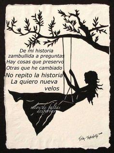 No Repito La Historia... La Quiero Nueva.