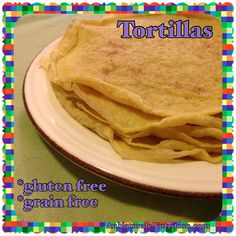 Easy Tortillas/Crepes. (Low-carb, Paleo, gluten & grain-free!) Great for Mexican nite or breakfast burritos. by www.aunaturalenutrition.com