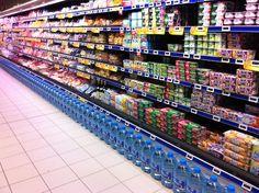 L'alignement des produits, effet visuel garantit, épisode III (Intermarché)