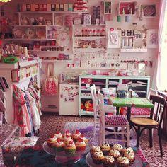 Salon de thé henry & henriette, mercerie, boutique Déco, Place de Bretagne
