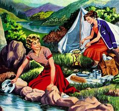 A nation of happy campers: The story of Britain's love affair with the great outdoors Leroy Jethro Gibbs, Vintage Campers, House On Wheels, Love Affair, Vintage Holiday, Happy Campers, Camping Gear, The Great Outdoors, Britain