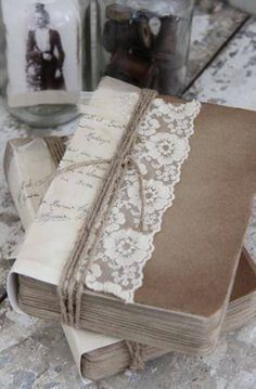 "Such a pretty way to gift a book. Maybe a ""May Day"" day-brightener idea"