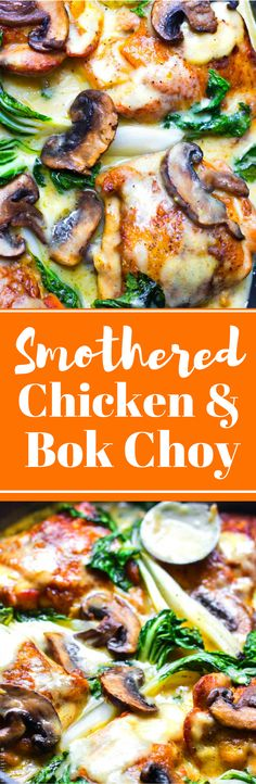 Chicken With Roasted Baby Bok Choy Smothered Chicken with Baby Bok Choy.Smothered Chicken with Baby Bok Choy. Turkey Recipes, Baby Food Recipes, Chicken Recipes, Cooking Recipes, Healthy Recipes, Dinner Recipes, Healthy Meals, Dinner Ideas, Turkey Dishes