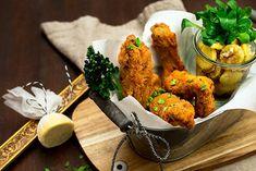 Tandoori Chicken, Ethnic Recipes, Food, Leafy Salad, Salads, Potato Salad, Meat, Essen, Meals