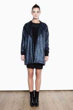 Płaszcz oversize 1415/47 Sweaters, Dresses, Fashion, Tunic, Vestidos, Moda, Fashion Styles, Sweater, Dress