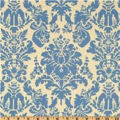 Damask is my favorite pattern...and I especially love this color combination :)