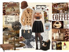 """""""Life of a Coffee Lover"""" by what-the-heart-desires on Polyvore"""