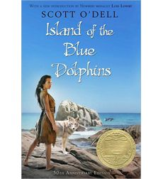 Island of the Blue Dolphins -- Newbery Medal Winner--awesome story of life on California channel islands--one girl left behind when her tribe leaves due to Russian fur traders. Based on true story. All Scott O'Dell books are wonderful! This Is A Book, The Book, Jhon Green, Books To Read, My Books, Blue Books, Newbery Medal, Newbery Award, Ella Enchanted