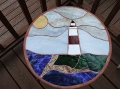 Lighthouse Stepping Stone