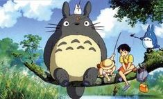 What's your favourite Studio Ghibli film? It's got to be My Neighbor Totoro for me! Secret World Of Arrietty, The Secret World, Film Anime, Anime Manga, Anime Art, Hayao Miyazaki, Chat Bus, Roman Photo, Shakespeare In Love