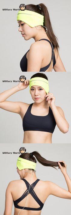 [Visit to Buy] 1 pc Cotton Sweat Headband For Men Sweatband Women Yoga Hair Bands Man Head Sweat Bands Sports Safety Cycling Headgear #Advertisement