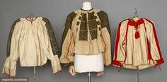 Three Embroidered Blouses, Hungary & Romania, 1865-1915, Augusta Auctions, April 9, 2014 - NYC