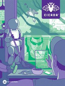 July/Aug Cicada Magazine is full of edgy stories, poems and comics Perfect for Teens and Young Adults who are passionate about the written word Digital Magazine, Apple News, Teen, Entertaining, Texture, Reading, Creative, Young Adults, Magazine Covers