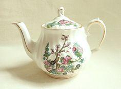 Vintage Mini Sadler Indian Tree Teapot 2 Cup