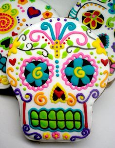Day of the dead cookie art