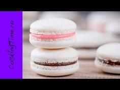 МАКАРОН - миндальное пирожное Macaron как приготовить простой рецепт - М...