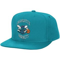 los angeles b341a 8ebd7 Wool Solid 2 Snapback Charlotte Hornets - Shop Mitchell   Ness NBA Snapbacks  and Headwear. NBA Caps   Hats