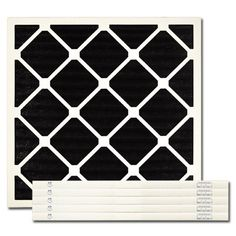 """20 X 20 X 1 Carbon Pleated Filter by Exact Match. $81.45. 20 X 20 X 1 Carbon Pleated Filter (actual size 19-1/2"""" X 19-1/2"""" X 3/4"""") These premium quality odor reduction carbon impregnated pleated filters are interchangeable with existing HVAC filters. The filter provides moderate dust/particulate holding capabilities but does not carry a MERV rating as it's primary function is the control of odors. Odorous gases and vapors are attracted to and held by the unique p..."""