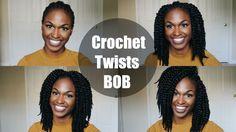 Crochet Havana Mambo Twists Tutorial: Bob Edition (12'') - YouTube