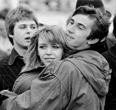 Phil Daniels and Leslie Ash