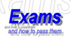 Proven techniques to help you gain high marks in your exams. Examination techniques to help you pass.
