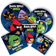 Angry Birds Space Ultimate Party Packs
