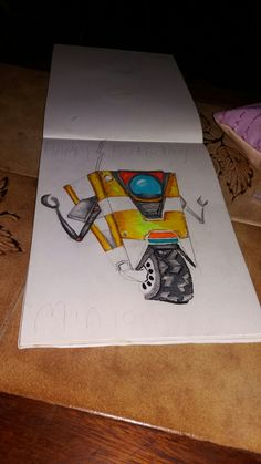 claptrap drawing