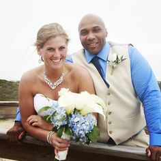 CONGRATULATIONS Jared and Ellen!!! #stephenpalmerweddings #tybeeisland #beachwedding
