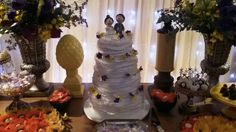 Garden Cakes: Bolo de Casamento Cláudia Britto.