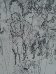 Jayne Anita Smith Feral Angel Drawing