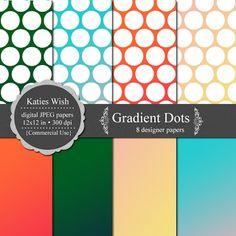 KatiesWish: Gradient Papers and Polka Dots