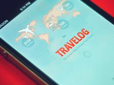Approachable travel app splash screen