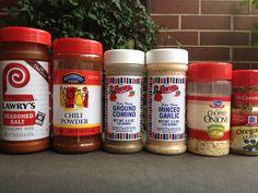 Chili Seasoning Mix Recipe - don't waste money on those chili seasoning packets ever again!