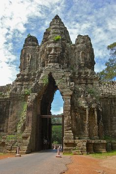 Angkor Thom, Cambodia | Incredible Pictures - If I go again It'll be trip #4 and I'll make sure to soak up every bit of food, fun, and culture this time.