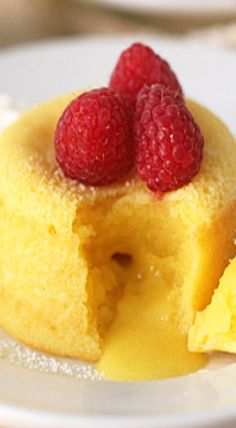 meyer lemon molten cakes