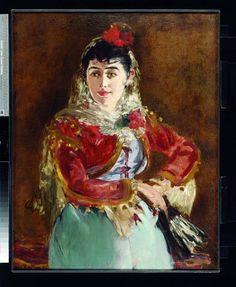 PORTRAIT OF EMILLE AMBRE AS CARMEN, 1880, MANET