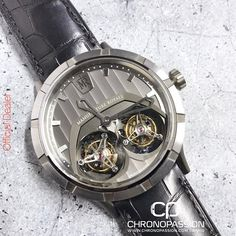 REPOST!!!  DOUBLE TEMPO Centuries apart, Micromegas and Manufacture Royale aren't afraid to look at their respective worlds from a different angle. And whereas Micromegas draws a philosophical lesson from his observations, Manufacture Royale chooses to redefine the principles of watchmaking with the new MR04 calibre, with spectacular results. Granted, multiple tourbillons already exist but no pair rotated at two different speeds, until now. The first cage, on the left, makes one revolution…