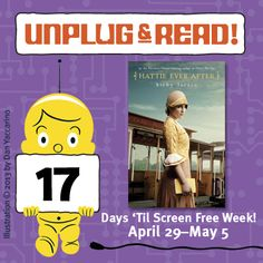 """Unplug & Read """"Hattie Ever After"""" by Kirby Larson! Click for a Q with the author."""
