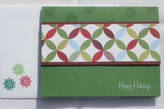 Christmas Card Handmade Handstamped by HandmadeOnJupiter on Etsy, $3.50