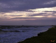 1967 Photograph, Fishing Pier Before the Storm, on the Atlantic Coast near Morehead City, North Carolina © 1999.