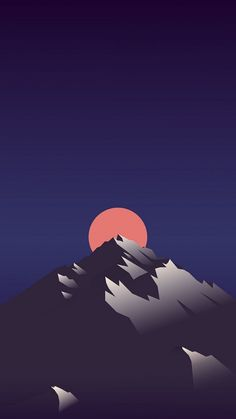 Evolving Sun Minimal IPhone Wallpaper