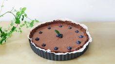 Hodvábny čokoládový koláč z tofu!